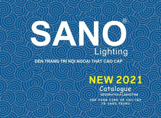 CATALOGUE ĐÈN TRANG TRÍ SANO LIGHTING 2021