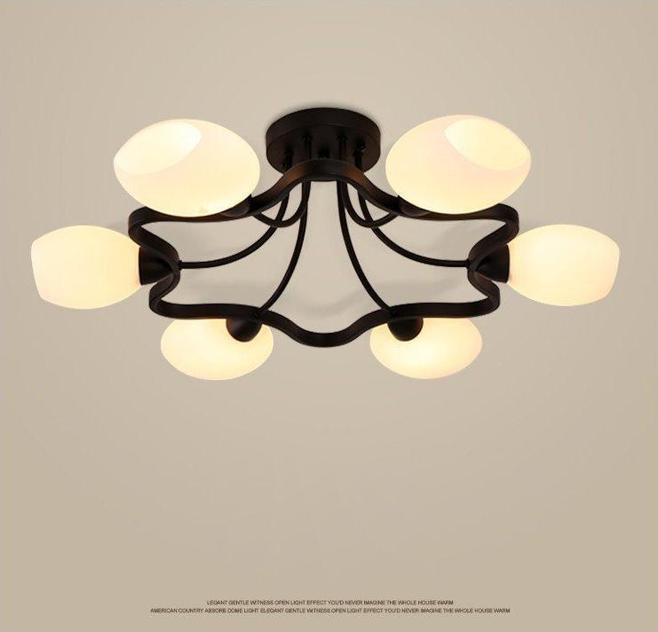 Đèn Chùm Trang Trí VRG1516-6 Φ700
